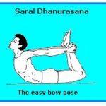 Saral Dhanurasana